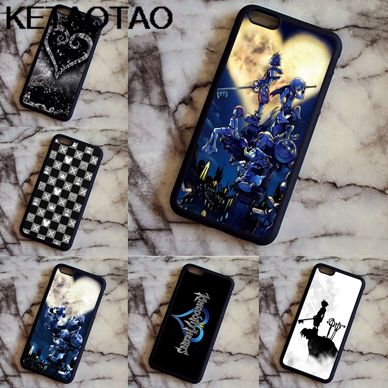 KETAOTAO In Stock Kingdom Hearts Phone Cases for iPhone 4S SE 5C 5S 6S 7 8
