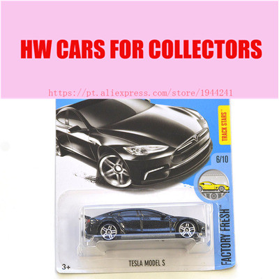 2017 New Hot 1:64 Car wheels black tesla model s car Models Metal Diecast Car Collection Kids Toys Vehicle Juguetes
