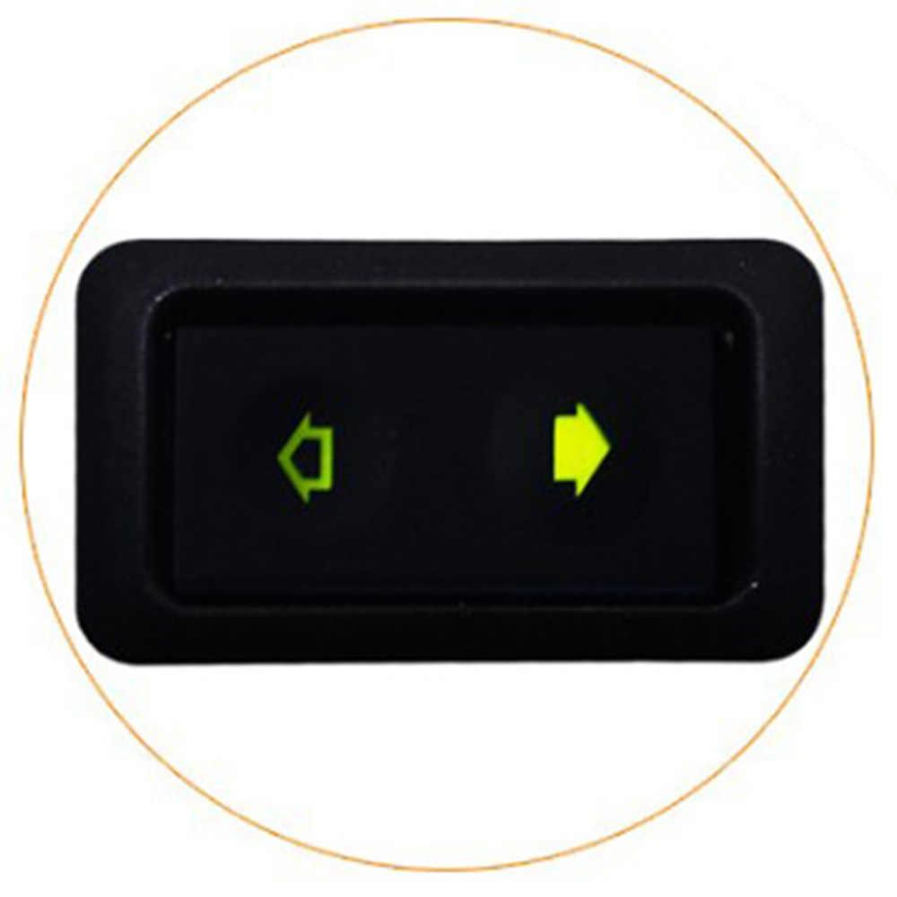 Universele 1 Pc 20A Electric Power Window Switch Knop Voor Alle Autos Met Groene Led Licht Auto Knop Schakelaar 12 v/24 V Auto Acessorie