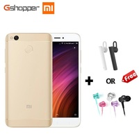 Original Xiaomi Redmi 4X 2GB 16GB Mobile Phone Octa Core Snapdragon 435 Cellphone 5 0 13