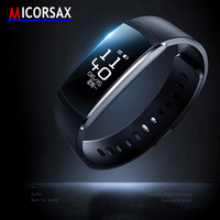 Hot Activity Tracker Smart Bracelet A6p Heart Rate Monitoring Band Multi Sports Management Fitness Wristband watch Push Message