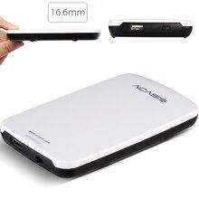 Высокое Качество ACASIS FA-05U 2.5 Дюймов USB2.0 Внешний Жесткий Диск Окно ноутбук HDD Корпус Дело SATA Интерфейс С Кабелем