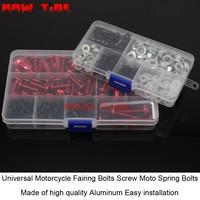 Universal Fairing Bolts Kit Motorcycle Acessories Screws MOTO For Suzuki GW250 GSXR600 GSXR750 GSXR1000 GSX650F Universal Screws