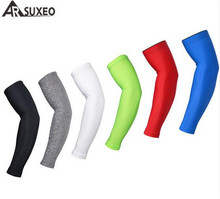 ARSUXEO Summer Unisex Cycling Arm Sleeves Armwarmer MTB Bike Bicycle Sleeves UV Protection Outdoor Sports Fishing Golf Cuff sports outdoor cycling sleeves armwarmer mtb cycle ride bike bicycle sleeves arm warmer uv protection sleeves arm sleeves 1 pair