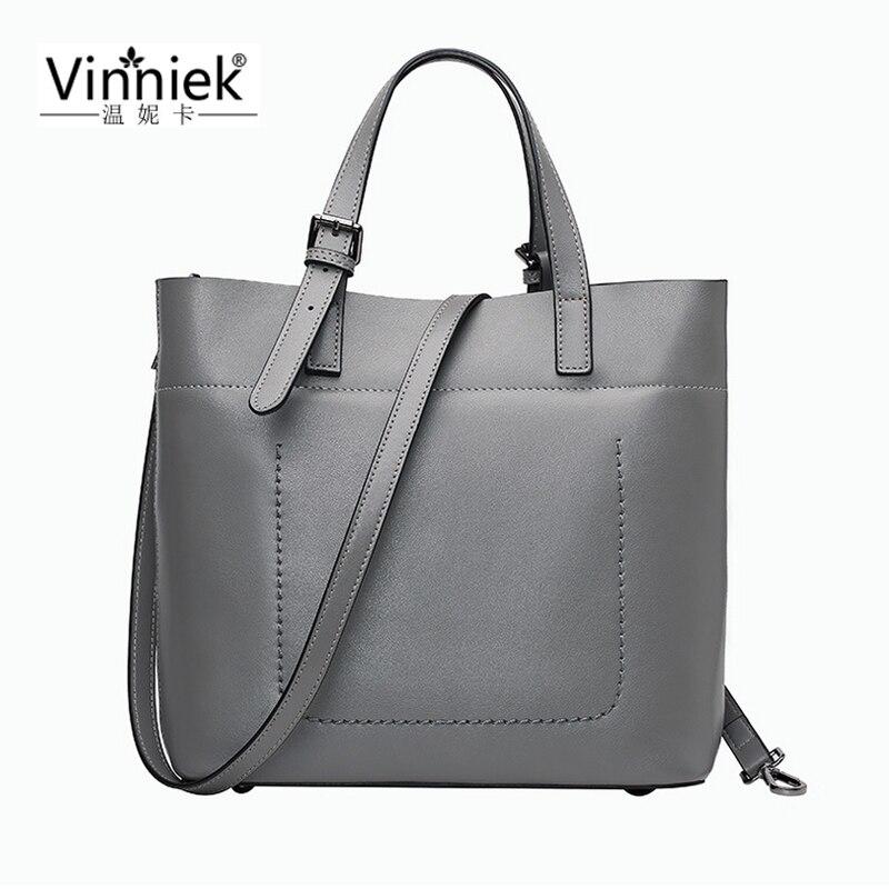 100% Genuine Leather Bags Large Women Leather Handbags Famous Brand Satchels Messenger Bags Big Ladies Shoulder Bag bolsos mujer