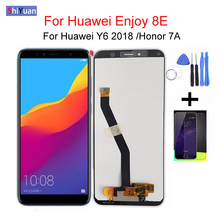 High Quality LCD For HUAWEI Enjoy 8E/ Honor 7A/ Y6 2018 /ATU LX1 / L21 L22 LCD Display Touch Screen Digitizer Assembly full lcd display touch screen digitizer assembly for huawei honor 4a y6 4g scl l21 5pcs dhl