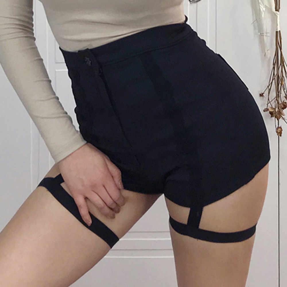 New Arrival spodenki 2018 Sexy moda damska krótkie na co dzień drążą szorty wysokiej talii spodnie kobiety popularne szorty harajuku