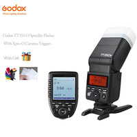 Godox tt350o Мини Вспышка Speedlite TTL с HSS для Olympus + Новые XPro o Godox камеры передатчик триггер 5 изящные группы и пуговицы