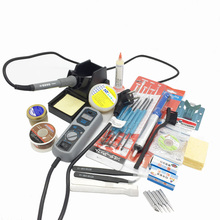 Original 220V 110V YIHUA 908D Soldering Iron Temperature Adjustable Electric Welding Soldering