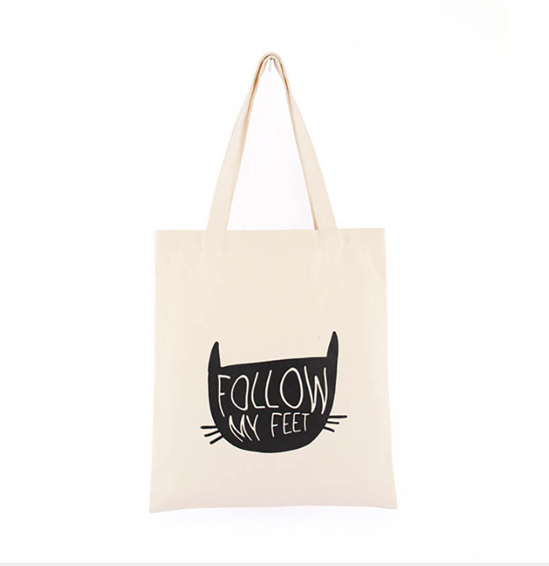 100Pcs/Lot 36Cm*31Cm Canvas Cotton Tote Bag Customized Logo Eco Company Advertising University Activity