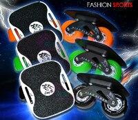 1 pair new skateboard girl boy Cruiser mini Drift board skate fish short board Roller Skateboard Skate board Scooters