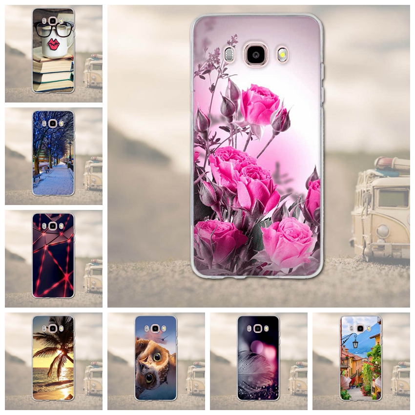 TPU Soft Phone Case for Samsung Galaxy J5 (2016) J510 Back Cover Luxury 3D Cartoon for Galaxy J5 (2016) J510F Mobile Phone Case