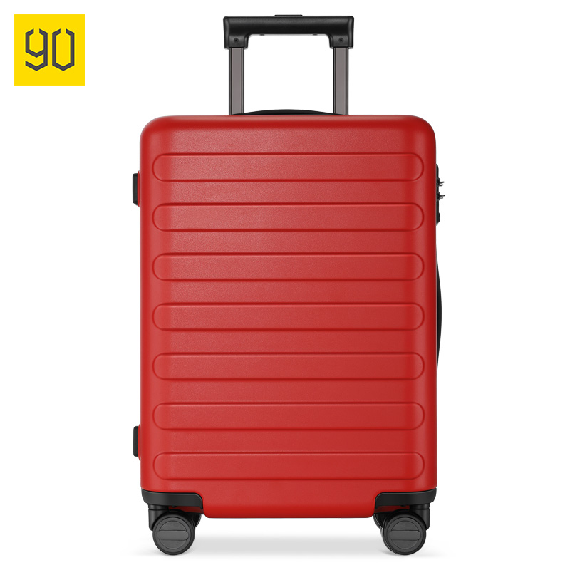 Letrend Fashion Color ABS Rolling Luggage Spinner Women Trolley Suitcase Wheels 20/24 inch Carry On Travel Bag Hardside Trunk - 2