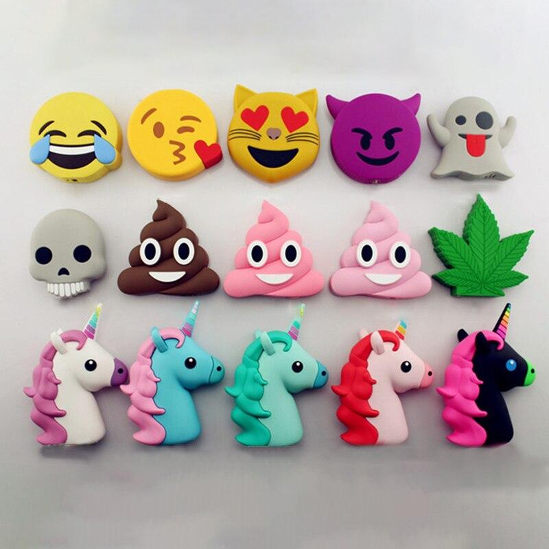 Funny Cute Emoji Power Bank