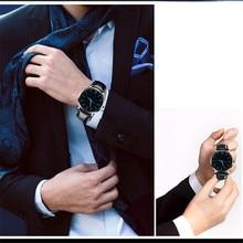 Модные женские туфли Для мужчин пара Повседневное сплава кожаный ремешок аналоговые сплава кварцевые наручные круглые часы Relogio Feminino Saat