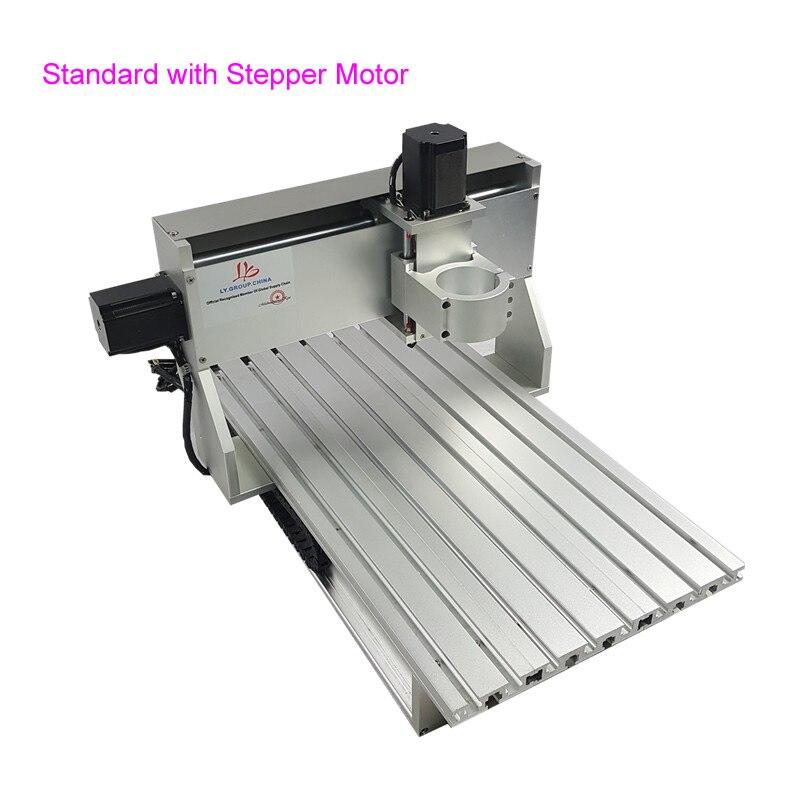 Aluminium tour corps CNC 6040 routeur 1605 vis à billes CNC cadre Kit bricolage CNC Machine de gravure bois fraisage routeur partie