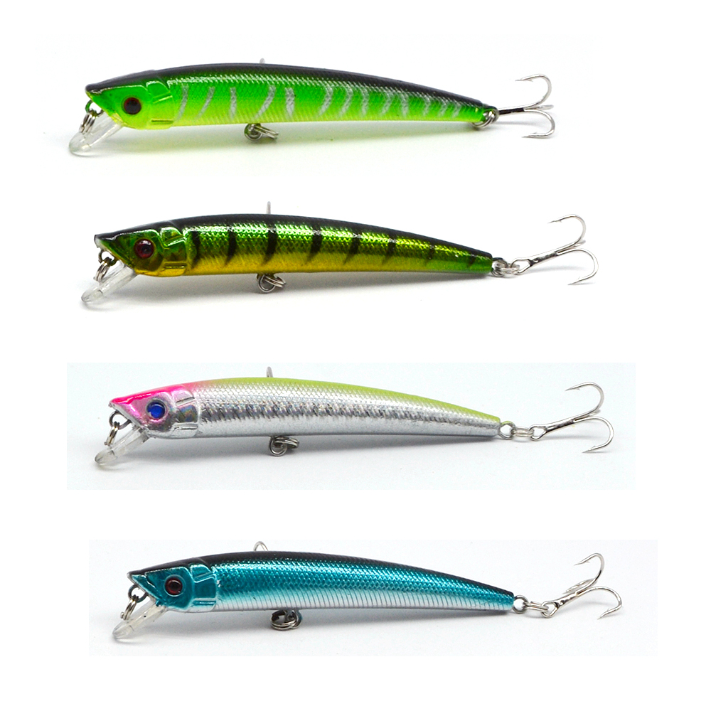 4pcs 8g fishing fishing lure minnow hard bait for Ocean fishing gear