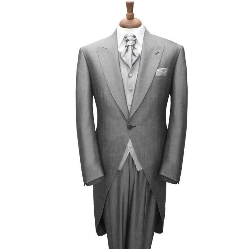 font b men s b font font b suits b font Details about Custom Gray