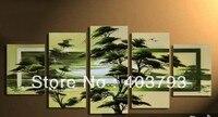 5 kpanels 아프리카 땅 현대 패션 유화 장식 무료 배송