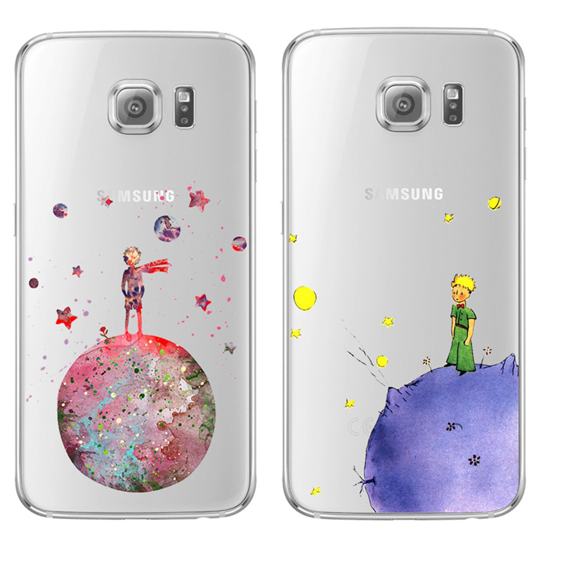 Little Prince The earth space For Samsung Galaxy S5 S6 S7 Edge S8 S9 Plus A3