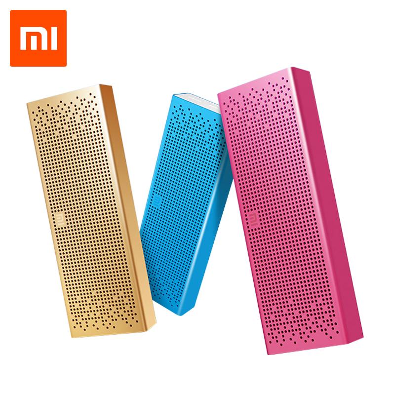 Prix pour D'origine Xiaomi mi Bluetooth HIFI Haut-Parleur Sans Fil Stéréo Mini Portable MP3 Lecteur Pour iPhone Samsung Mains Libres Tf AUX