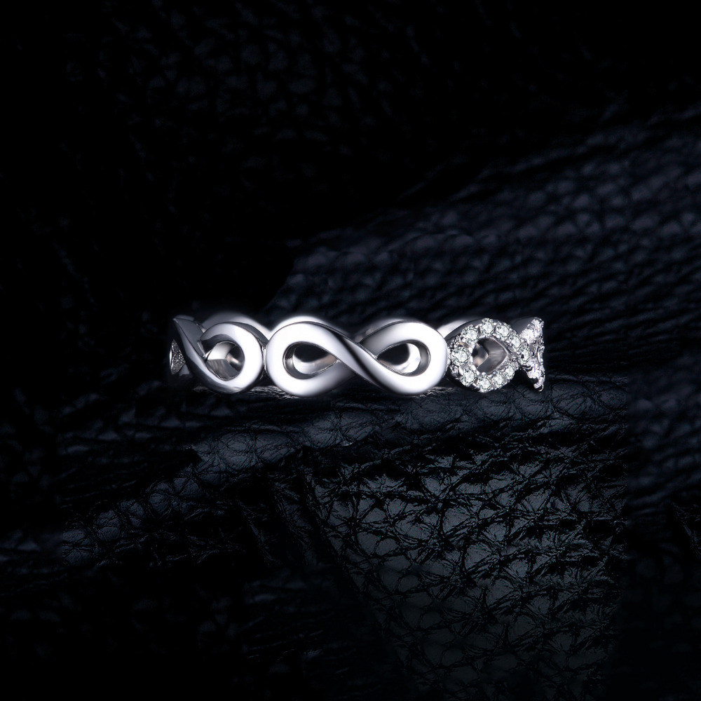 SmyckenPalace Infinity Forever Love Anniversary Promise Ring Pure 925 - Fina smycken - Foto 4