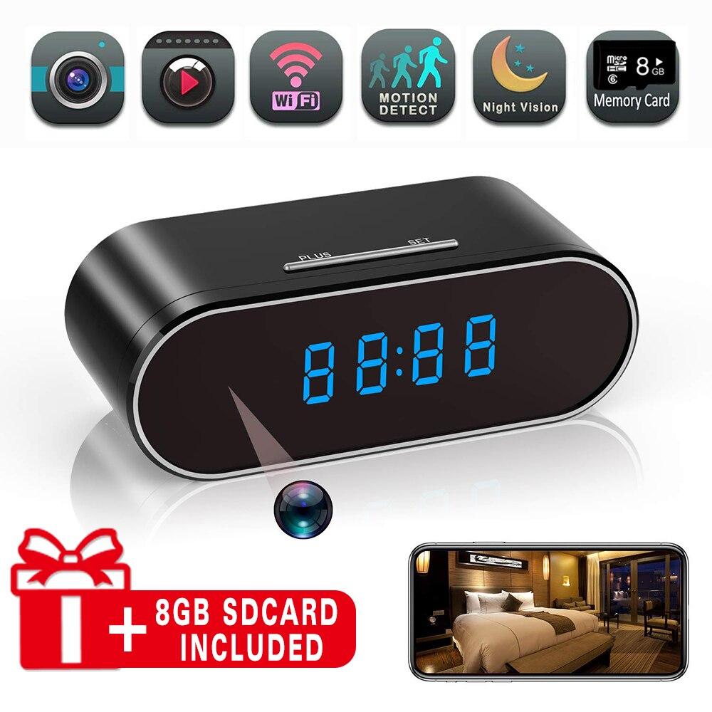 Oneyes câmera de vigilância wifi câmera de segurança ip câmera de rede 1080 p casa cctv câmera relógio de visão noturna detecção de movimento cam