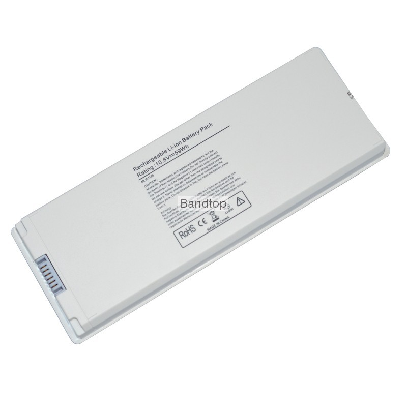 59Wh 10.8V Laptop Battery for Apple MacBook 13″ A1181 A1185 MA561 MA566 MA566J/A MA566FE/A MA255 MA472 MA699 MA700 MA701 white