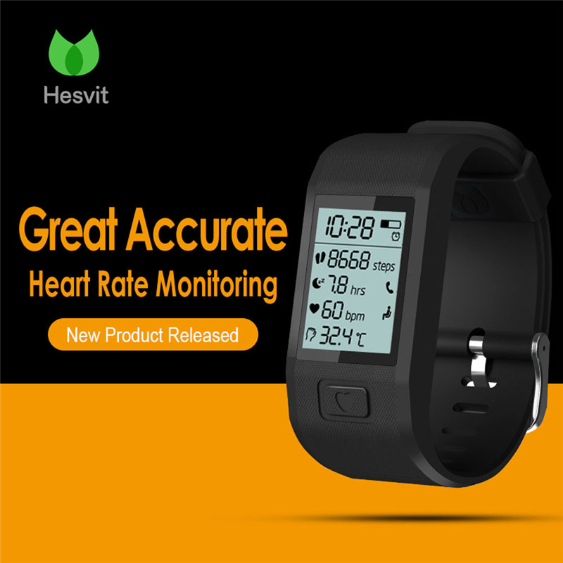 Newest Smart Watch Heart Rate Monitor Fitness Bluetooth Smart Wrist Watch Phone Mate For IOS and Android Phone Intelligent watch контроллер hp p440ar dl360 gen9 for 2 gpu configs 726740 b21
