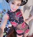 Женщины сексуальный черный женское джаз танец ночной клуб DJ одежда ds горный хрусталь bodyduit костюм женщины в одежда сцена peformance