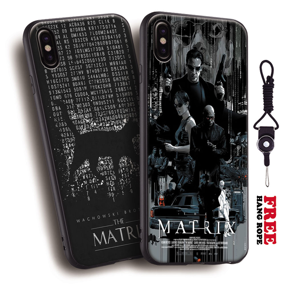 The matrix classic Movie poster Tpu Soft Silicone Phone Case Cover Shell For Apple iPhone 10 X 5 5s SE 6 6s 7 8 Plus