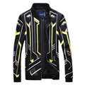 Men Jacket 2016 Autumn coat New Design Men's Jacket Fashion Zipper Casual Jackets For Man Slim fit Men Coats Plus size 5XL
