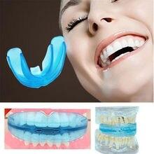 Зубная, Ортодонтическая стоматологическая техника, профессиональный тренажер для выравнивания, мундштук для зубов, прямой/Выравнивающий уход за зубами