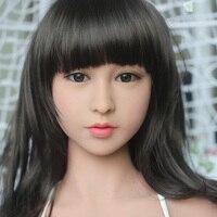 Aiyijia Новое поступление маленькая грудь см 135 см японский силиконовые секс куклы влагалище реального киска любовь