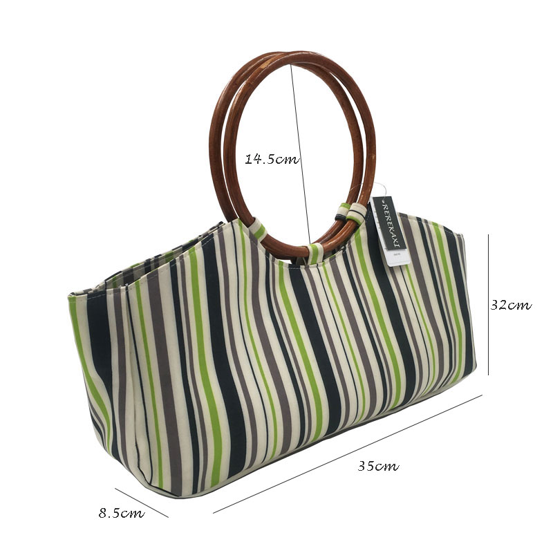 866192c26a REREKAXI Retro Oxford cloth women s handbags Beach bag Ladies totes Daily  Use Shopping Bag Clutch Women s shoulder bag-in Top-Handle Bags from Luggage  …