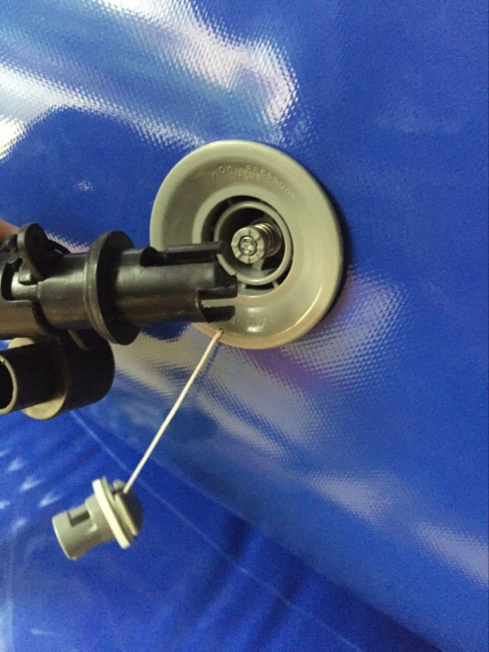 Gumenjak odbijač vanjski 2.5m prilagođene gumenjak trampolin PVC - Zabava na otvorenom i sportovi - Foto 6