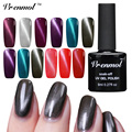 Vrenmol 1pcs Cat Eye Nail Gel Lacquer Magnet UV LED Gel Nail Polish Long Lasting Glitter Magnetic Nail Gel Varnish