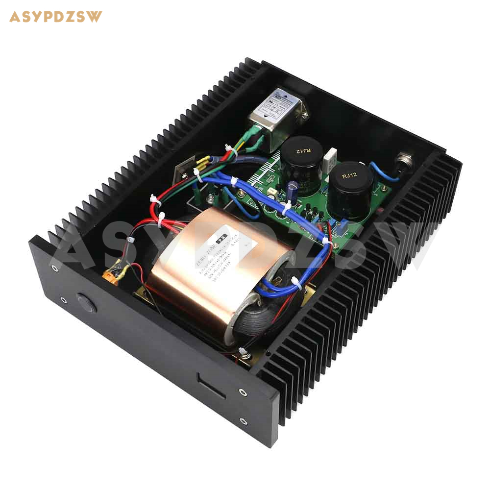 Finished 100VA HIFI DC19V 4.2A Low Noise Linear Power Supply for PC Audio PSU