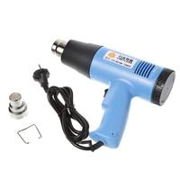 220V 1500W Electric Heat Gun Adjustable Temperature Power Tool EU Plug with Nozzle