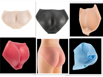 Silicone Push Up Hip Pant Crossdressing Pants Sexy Shemale Protesis Body Padded Enhancer Shaper Fake Ass Underwear Women Pants