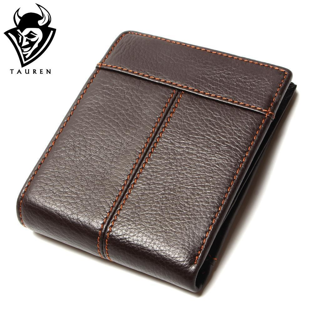 Fashion And Vintage Wallet For Man Wholesale China 100% Genuine Leather Coffee Color Men's Wallets Men Retro simline vintage 100