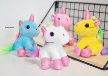 Mini New 12CM Approx. 2Designs- Cute Animal Stuffed Plush Doll Toy , Keychain plush toys , little kid's Plush Doll(China)