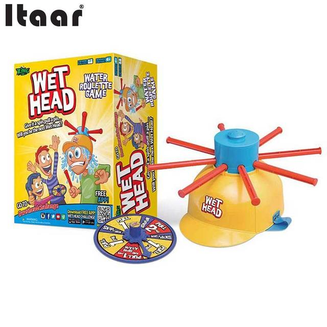 Wet Head Funny Jokes Water Roulette Family Party Game