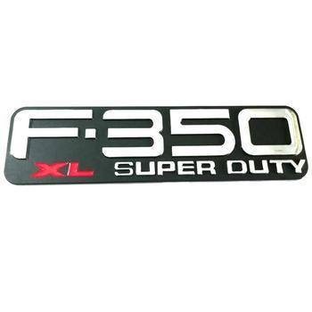 ABS F350 F-350 XL F350XL F-350XL Super Duty Auto Emblems Badges