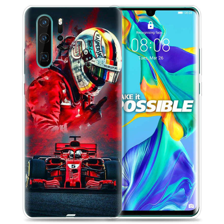 Case for Huawei P30 P20 P10 P9 Mate 10 20 Lite Pro Mobile Cell Phone Bag P Smart Z 2019 Plus Sebastian Vettel P8 P30Pro P20lite
