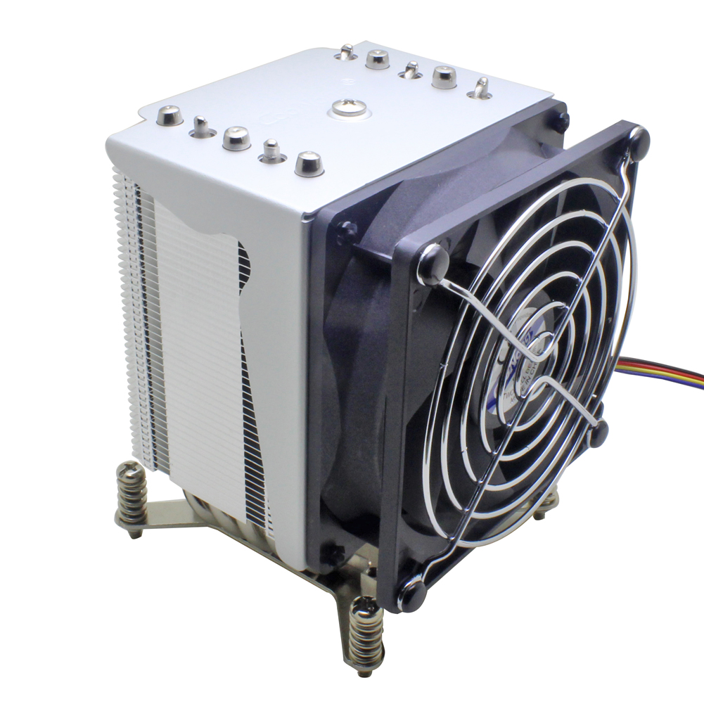 3U 4U server CPU COOLER cooling fan 5 Heat pipe for intel Xeon LGA 2011 2066