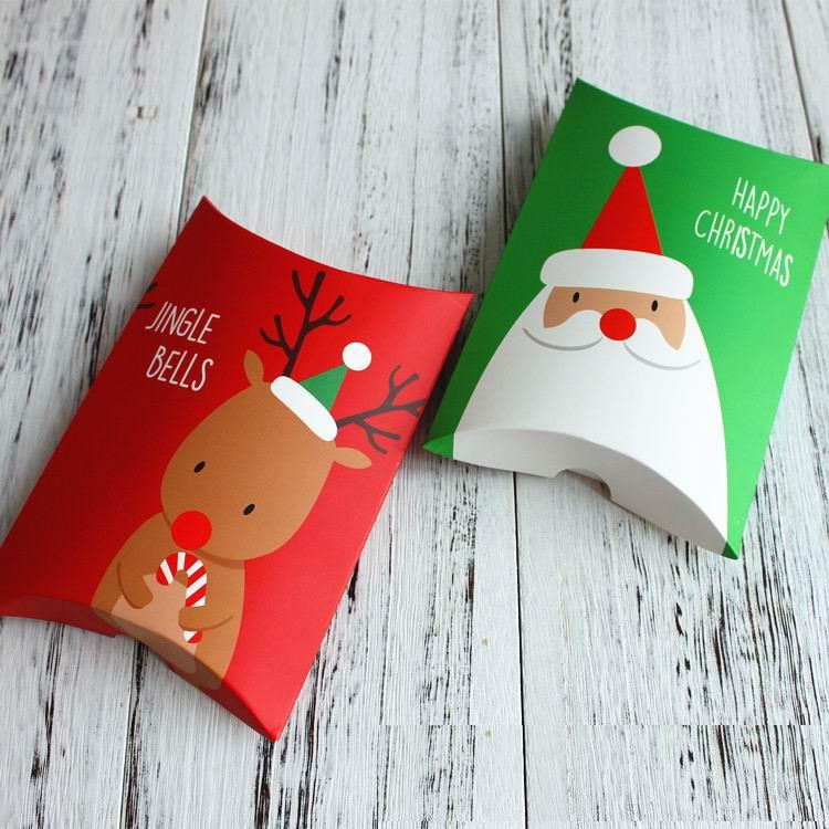 200 Stücke Neue Weihnachtsgeschenke Verpackung Candy Boxen ...