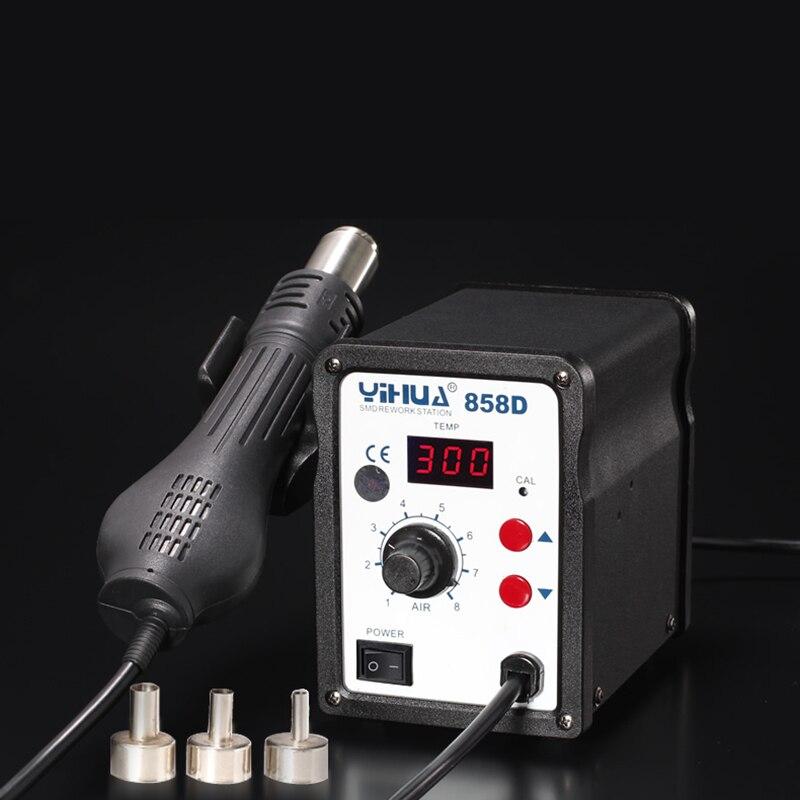 YIHUA EU / US Plug 650W 858D ESD Stazione di saldatura LED Saldatura - Attrezzatura per saldare - Fotografia 4