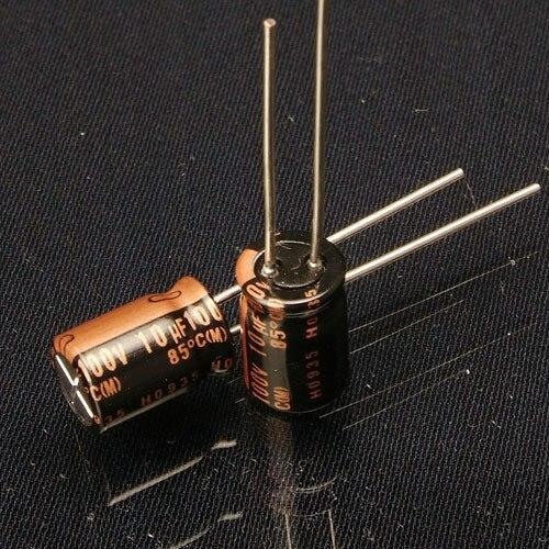 Original em Japonês Sale 30pcs Nichicon kz 10uf 100v Novo Áudio Capacitor Eletrolítico Frete Grátis 2020 Hot 10pcs –
