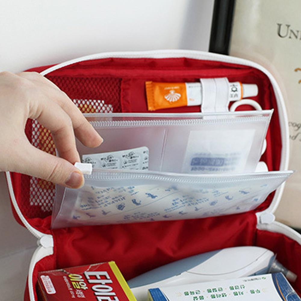 Korean Style First Aid Kit Väska Väska Military Survival Travel - Resetillbehör - Foto 4